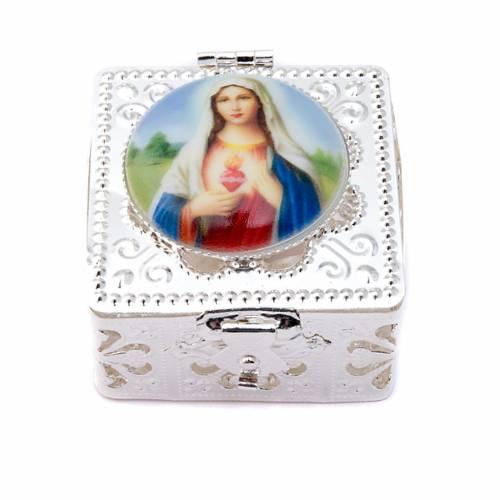 Filigree porcelain square box s2
