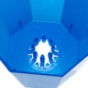 Candele, ceri, ceretti: Flambeaux in plastica colorati (20 pz)