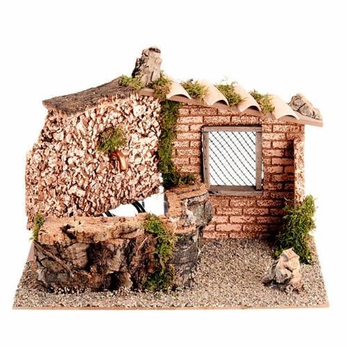 Fontaine électrique murs et brick, 2W, article pour cr&eg s1