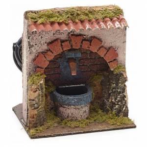 Fontaine en miniature électrique 13x14x11cm s1