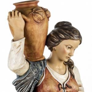 Krippenfiguren: Fontanini Frau mit Amphoren 125 cm