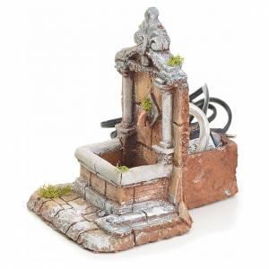 Fountains: Fountain in resin 17x13x16cm