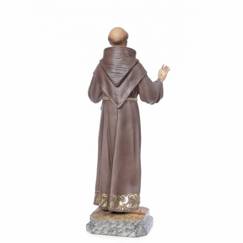 Francis of Assisi wood paste 80cm, fine finish s3