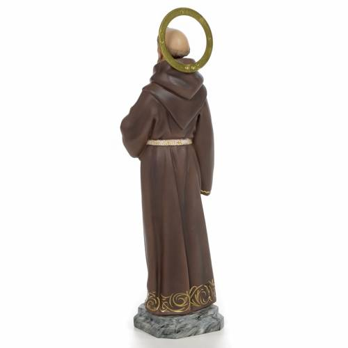 Francis of Assisi wooden paste 40cm, fine finish s3
