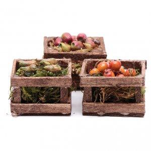 Miniature food: Fruit boxes set of 3 pieces
