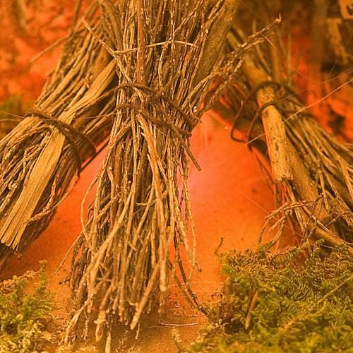 Fuego pesebre ramitas y corcho 20x14x16 s2
