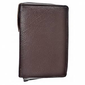 Fundas Biblia de Jerusalén Letra Grande: Funda Biblia Jerusalén Letra Grande ESPAÑA marrón oscuro simil cuero