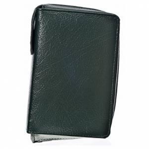 Funda Biblia Jerusalén Nueva Edición verde simil cuero s1