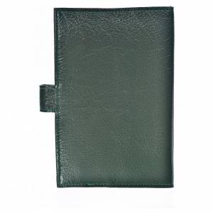 Funda Sagrada Biblia CEE ED. Pop. verde simi cuero Trinidad s2