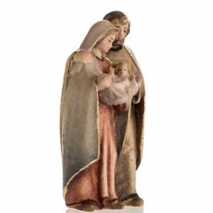 Heilige Familie: Geburtsszene aus Grödnertal Holz