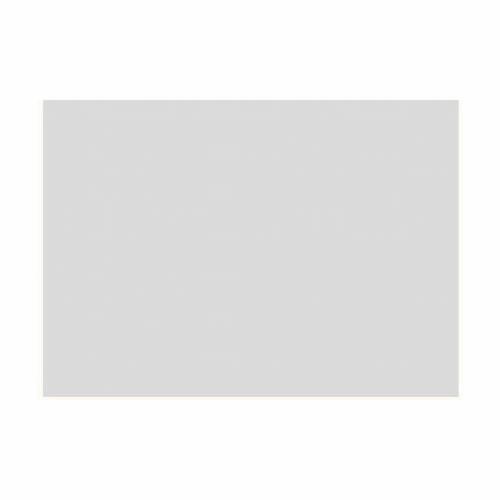 Gélatine pour ampoules 25x30 cm soie brossée transparente s1