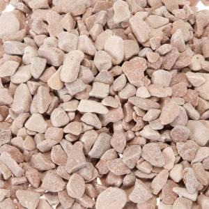 Muschio, licheni, piante, pavimentazioni: Ghiaia rossa presepe fai da te 450 gr.
