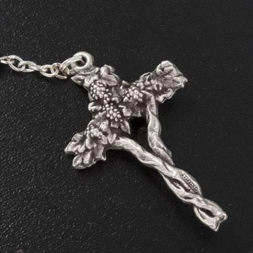 Ghirelli rosary, black First Communion, 5mm s4