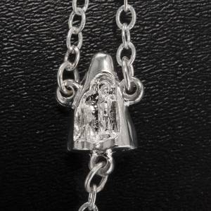 Ghirelli rosary Lourdes, black shiny glass s4