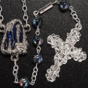 Ghirelli rosary Lourdes Grotto, Aurora 6 mm s2