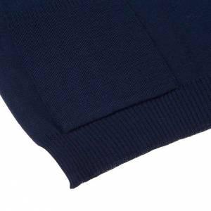 Gilet ouvert avec poches, bleu s4