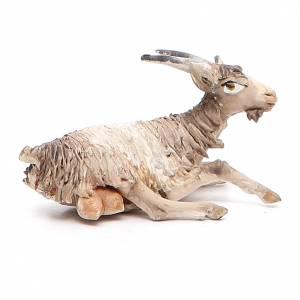 Angela Tripi Nativity scene: Goat sitting in terracotta 13cm Angela Tripi