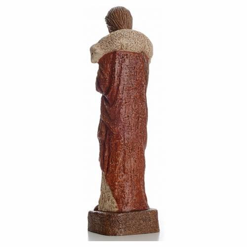Good shepherd stone statue 39 cm, Bethlehem Nuns s3