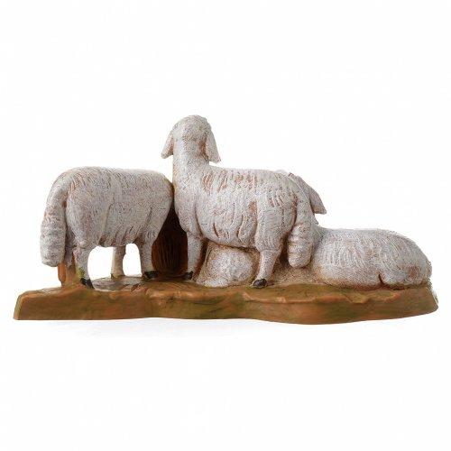 Gregge di pecore 12 cm Fontanini s4