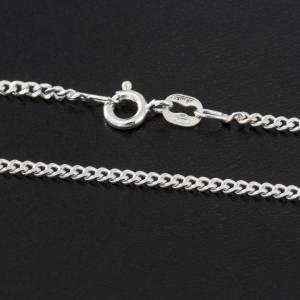 Grumetta chain in sterling silver 50cm s2