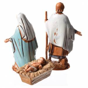 Krippe Moranduzzo: Heilige Familie 3 St. 6,5cm Krippe Moranduzzo