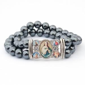 Hematite multi-image bracelet s2