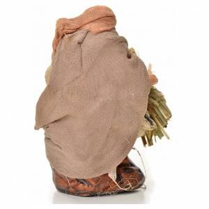 Homme au foin crèche Napolitaine 6 cm s2