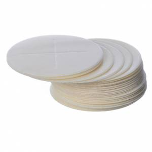 Communion bread and hosts: Host, 7cm closed edges, 25 pieces