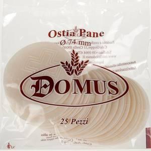 Komunikanty Hostie do mszy świętej: Hostia Magna chleb 7.5 cm średnica 25 sztuk