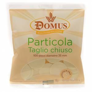 Partículas, hostias para misa: Hostias corte cerrado 3,5 cm (100 pz)