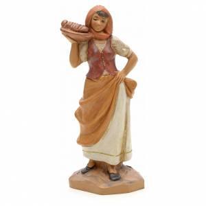 Santons crèche: Hôtesse crèche Fontanini 12 cm