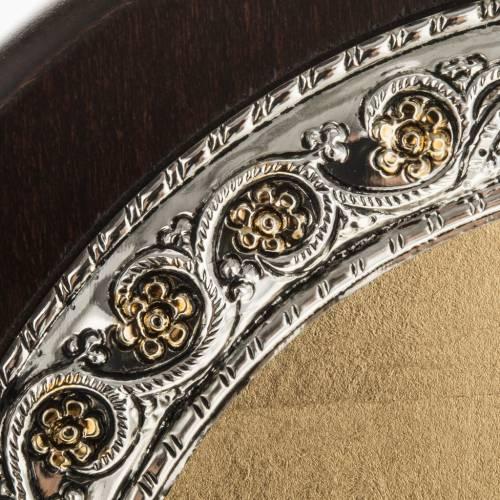 Icona Grecia Madonna della Passione da tavolo argento 925 s5
