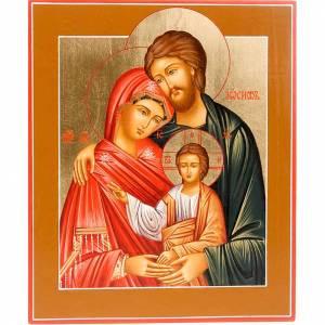 Icona Sacra Famiglia ortodossa Russa s1