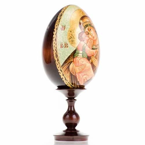 Uovo - icona Madre di Dio Vladimir s2