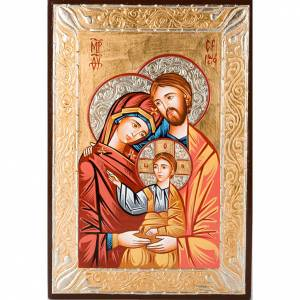 Icone Romania dipinte: Icona sacra dipinta a mano Sacra Famiglia