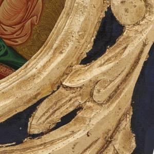 Icona Vergine Glikofilussa Grecia serigrafata e dipinta s3