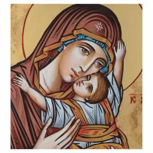 Icona Vergine Odigitria 45x30 cm s2