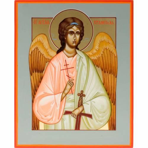 Icône russe peinte à la main, 22x27  ange gardien s1