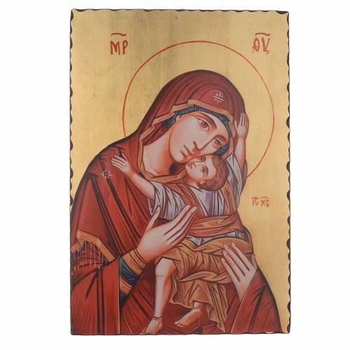 Icône sérigraphiée Vierge Kardiotissa 60x40 cm s1