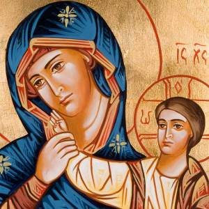 Icône vierge de Dieu joie et soulagement Roumanie s2