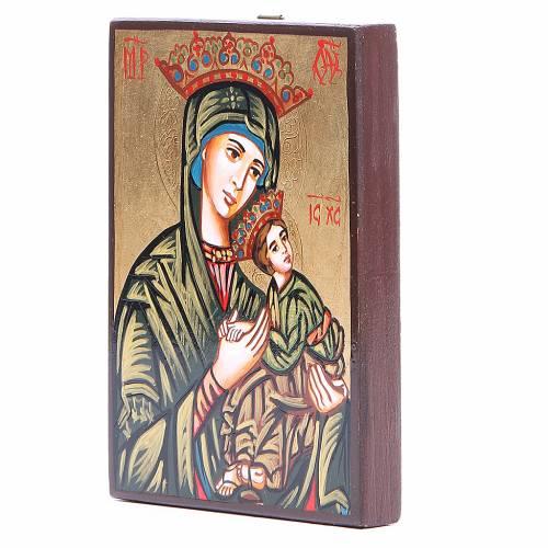 Icone Vierge de la Passion Roumanie 14x10 s2