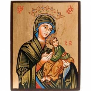 Handgemalte rumänische Ikonen: Ikone Gottesmutter der Passion