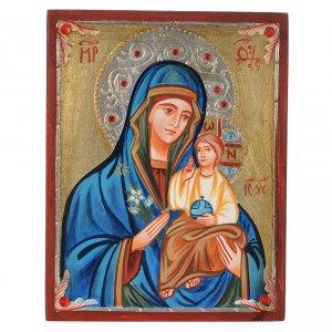 Handgemalte rumänische Ikonen: Ikone Gottesmutter Hodegetria