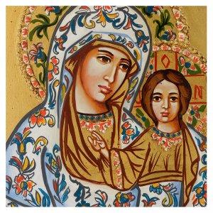 Handgemalte rumänische Ikonen: Ikone Gottesmutter von Kasan