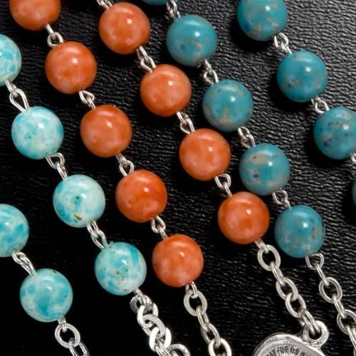 Imitation stone rosary, 6mm s3