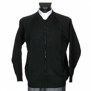 Pullover: Jacke fuer Maenner geformte Kragen