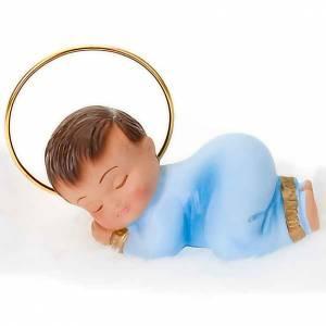 Jésus enfant, bénédiction, craie cm 6 s3