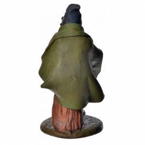 Joueur de musette crèche 18 cm terre cuite Deruta s8