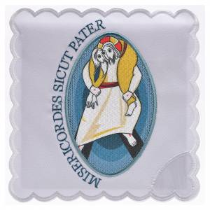 Altar linens: STOCK Jubilee of Mercy altar linens set, cotton