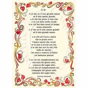 Kartki z życzeniami: Kartka z życzeniami piosenka 'A Te' Jovanotti
